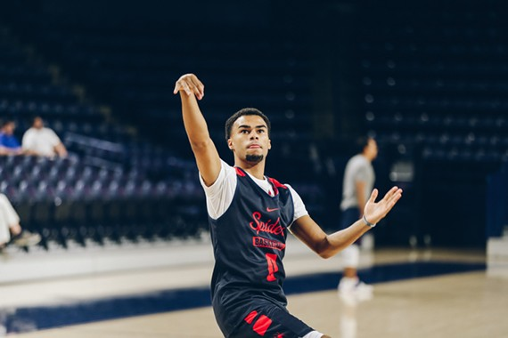 The Richmond Spiders' freshman point guard Jacob Gilyard can break his school's all-time single season steals record in round two. He currently has 85 steals for the season.
