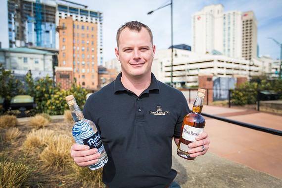The owner of Dead Reckoning Distillery, Derek Ungerecht, whose microdistillery opens in Norfolk next month.
