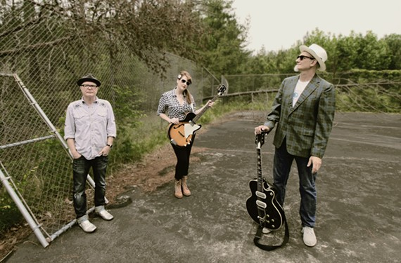 Drummer Dave Hartman, bassist Mary Huff and singer and guitarist Rick Miller have been mixing rockabilly, surf, country and R&B since the early '80s from Chapel Hill, N.C. They typically write songs about dancing, sex and fried chicken.