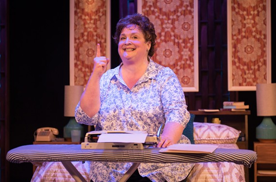 One of the most engaging actors in town, Catherine Shaffner portrays Erma Bombeck in a one-woman show about the famous humorist.