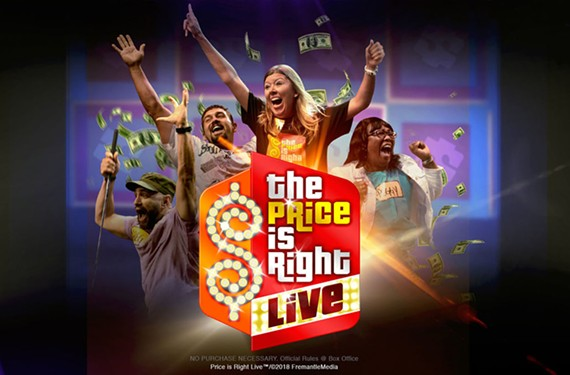 The Price is Right Live is coming to the Sandler Center for the Performing Arts on Nov. 5. Tickets go on sale Friday.