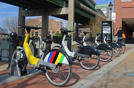 So far, riders have used RVA Bike Share 6,000 times for 12,000 miles.