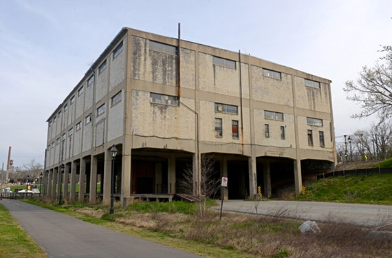 Though it appears somewhat brutal, the Terminal Warehouse No. 3 at 3100 E. Main St. is a rare structure that once connected Richmond to the Cuban sugar trade.