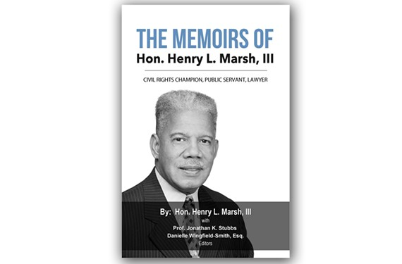 A book signing with Henry Marsh will be held at the Library of Virginia on Tuesday, April 17, starting with a reception at 5:30 p.m.
