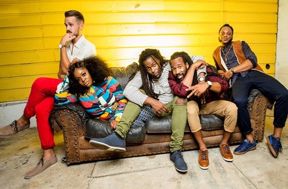 New Orleans' eclectic neo-soul outfit, Tank and the Bangas, won the 2017 National Public Radio Tiny Desk contest and will be playing Brown's Island on Friday.