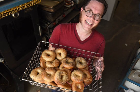 Nate Matthews plans to open his bagel storefront on Wednesday, May 16.