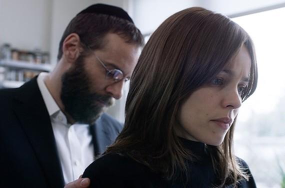 "A masterclass in minimalistic storytelling, ""Disobedience"" stars Rachel McAdams as Esti and Alessandro Nivola as Dovid Kuperman."