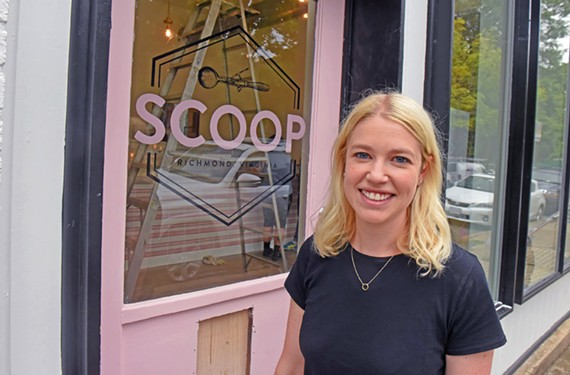 Morgan Botwinick will open the Scoop on Strawberry Street next week.