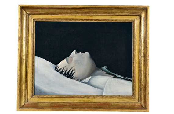 """""""Napoleon on His Deathbed,"""" 1821, by Denzil O. Ibbetson"""
