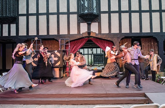 """""""Romeo and Juliet"""" at Agecroft Hall, through June 24"""