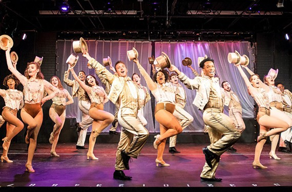 "One of the classic musicals, ""A Chorus Line"" features ample opportunity for local performers such as Alexa Capeda and Alexander Sapp to shine."