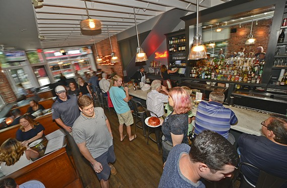 Pearl Raw Bar is one of many spots in the Fan offering weekday happy hour specials.