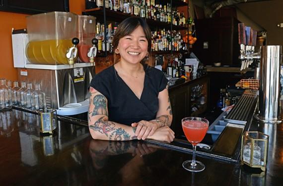 Saison bartender Sophia Kim.