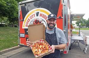 River City Wood Fire Pizza owner Joe Lajoie. - SCOTT ELMQUIST