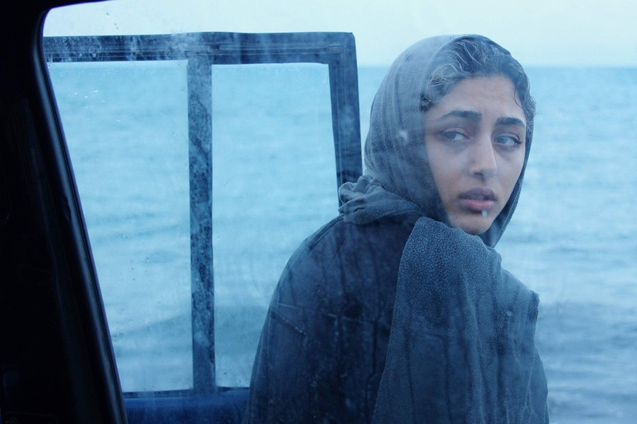 "A still from the 2009 Iranian film ""About Elly"" by director Asghar Farhadi."