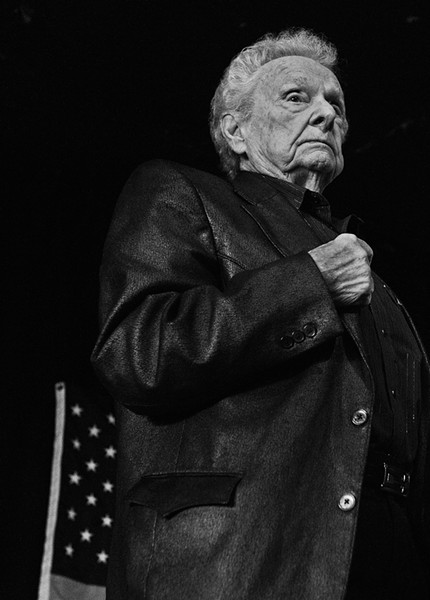 Ralph Stanley in Richmond. - SCOTT ELMQUIST