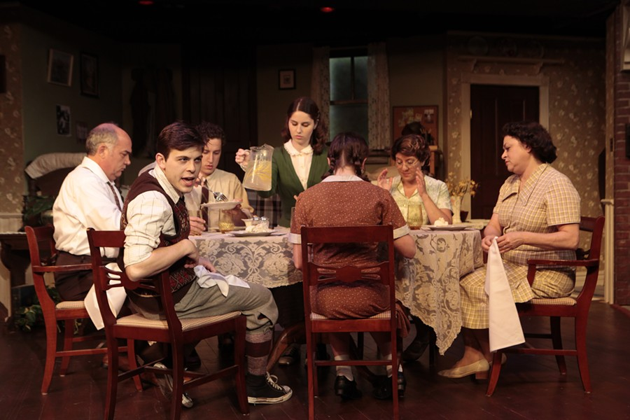 "The entire cast shines in Va Rep's take on the Neil Simon classic, ""Brighton Beach Memoirs."""