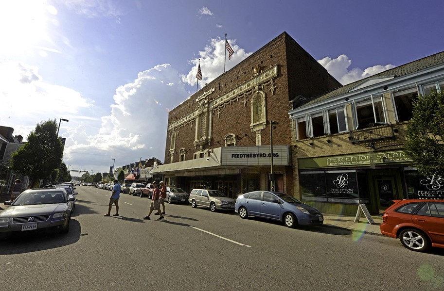 The historic Byrd Theatre is one of the finest historic movie palaces in the country.