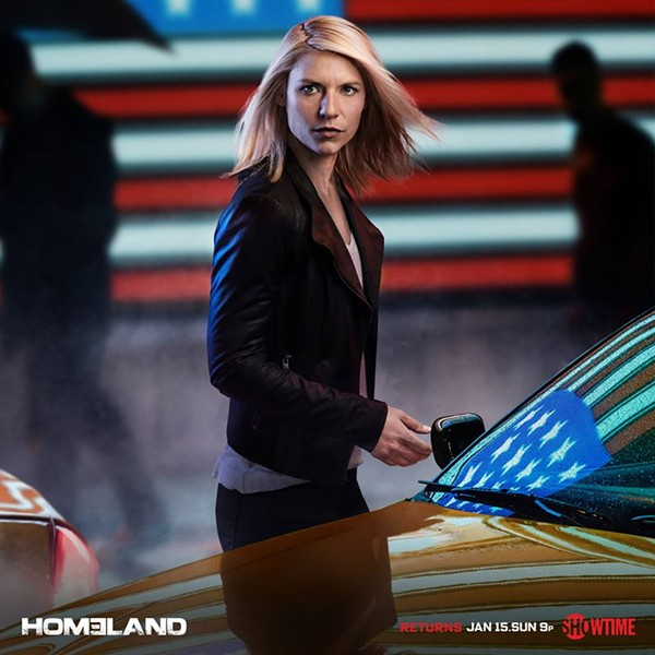 "Claire Danes stars in Showtime's ""Homeland,"" which is filming this fall and winter in Richmond."