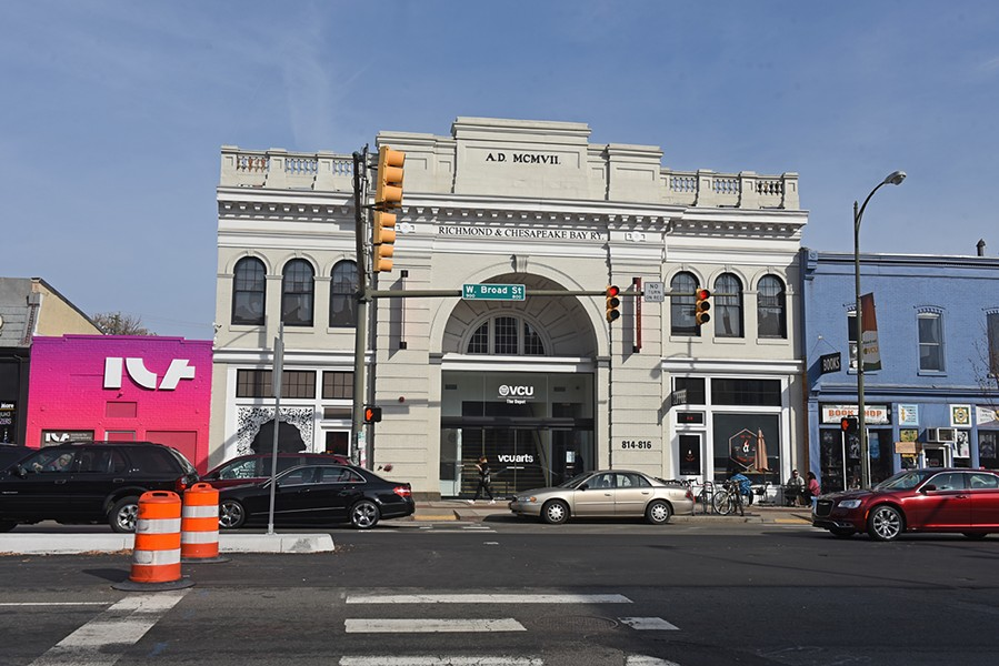The renovated VCUArts Depot, at 814 W. Broad Street, held in November one of its largest meetings in 40 years to discuss the low rate of pay for adjuncts. - SCOTT ELMQUIST