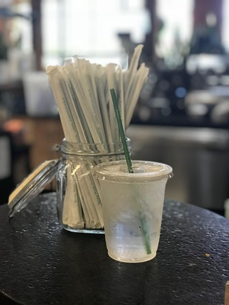 The new compostable straws.