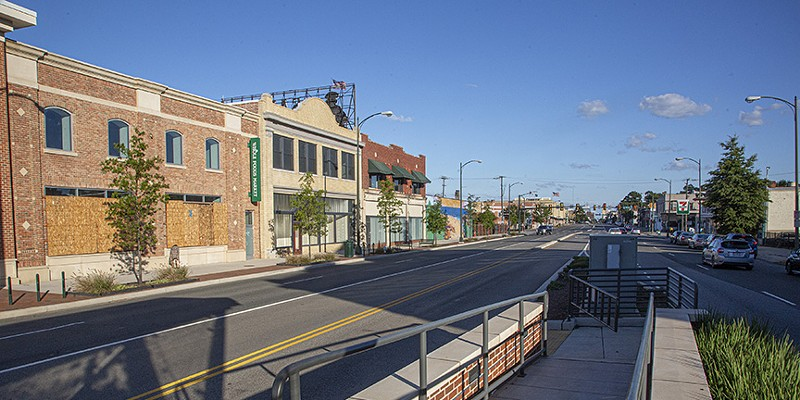 2000 block of West Broad St. The genesis of the rezoning effort to build 20-plus story buildings along Broad Street can be found in the Pulse Corridor plan from 2017.
