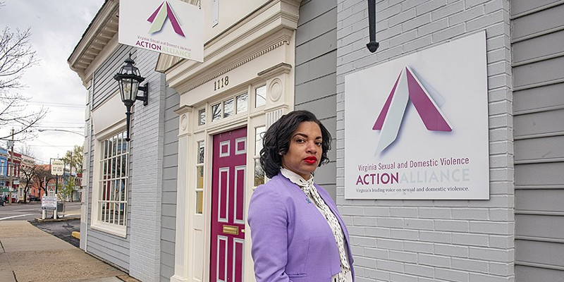 Fatima Smith, a Style Weekly Top 40 under 40 winner, is working to hold youth sporting organizations that perpetuate sexual abuse accountable.