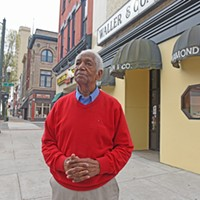 Photos of the Year Richard Waller Jr.'s business on East Broad Street, Waller & Co. Jewelers, has been in his family since 1900. Waller has seen decades of changes in the area and is about to witness another wave. And that could affect the future location of the store.