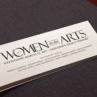 Women in the Arts Cocktail Reception & Awards Nine of Richmond's finest were honored last night at the 2017 Women in the Arts.