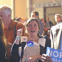 Election Night Polls show that women came out in record numbers for Northam. Charlotte Rene Woods
