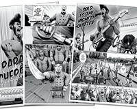 """""""Papa Cherry,"""" a graphic novel set in Richmond features black rockers, slave zombies and Confederate re-enactors on Segways"""