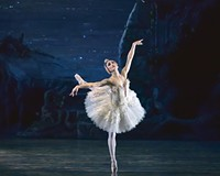 """American Ballet Theatre dancer Sarah Lane, a last-minute replacement, was the dance double for Natalie Portman in the psychological horror film """"Black Swan."""""""