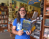 Chop Suey owner Ward Tefft is known for holding special literary events in his Carytown shop.
