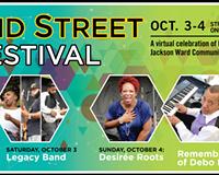 2nd Street Festival Announces Virtual Fest, Oct. 3-4