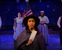 "Marjie Southerland reprises her role as the famous abolitionist in Virginia Repertory Theatre's ""Harriet Tubman and the Underground Railroad"" on Oct. 3, 4, 10 and 11."