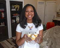 The Sweetest Thing owner/baker Leonda Jiggetts