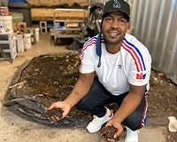 Permies Worms owner Caleb Johnson just sold 25,000 worms to a vineyard in Maryland. He learned about composting with worms in a permaculture class from an ad he saw in Style Weekly.