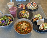 Organic Krush opened in 2019 with a menu featuring made-to-order organic and sustainably sourced items.
