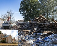 In late January, Union Presbyterian Seminary bulldozed the Westwood House.