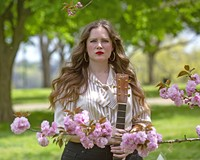 Singer-songwriter Erin Lunsford has stayed busy over the past year by streaming performances from her home.
