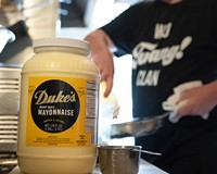 Millies is one of many local restaurants  using Duke's Mayonnaise.
