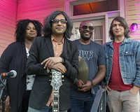 Kenneka Cook, Prabir Mehta, Kelli Strawbridge and Russell Lacy make up the four-piece called Prabir Trio.