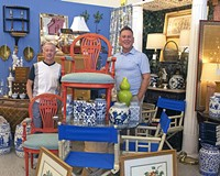RVA Antiques owners Larry Hardy and Dean Lewis.