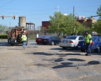Developer Catches City's Attention to Manchester's Pothole-Peppered Roads