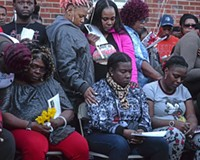 Richmond Vigil Honors Mother and Daughter Killed in Mosby Court Last Week