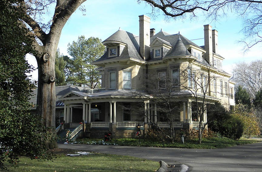 Click To Enlarge Holly Lawn, A Gorgeous Queen Anne Style House Completed In  1901, Was Once