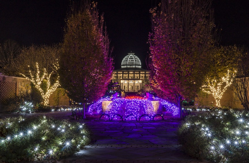 Gardenfest for Fidos at Lewis Ginter Botanical Garden | Night and ...