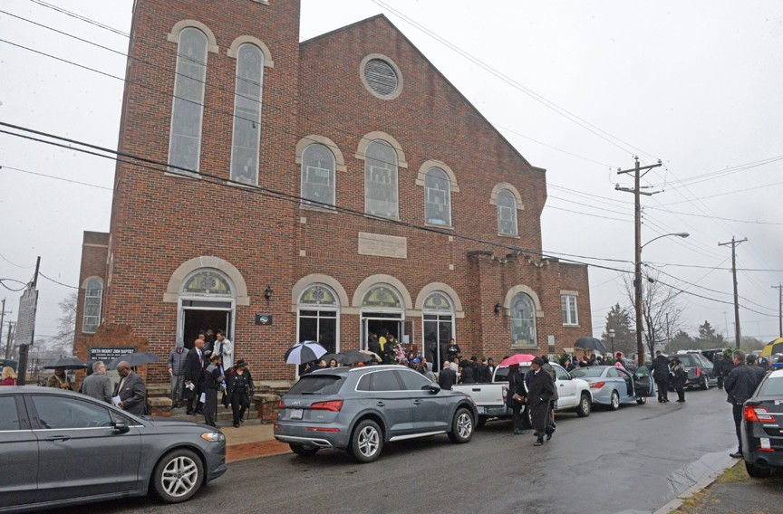 A home-going celebration was held Feb. 12 at Sixth Mount Zion Baptist Church. - SCOTT ELMQUIST