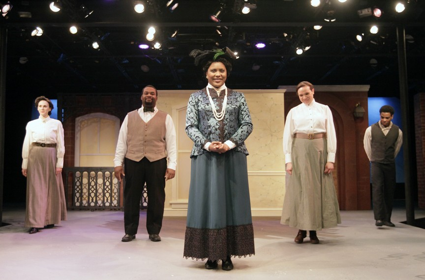 Jessi Johnson performs as Maggie Walker in a 2015 production by Virginia Rep.