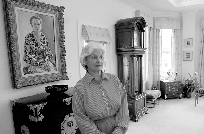 Sara Belle November was a generous patron of the performing and visual arts and her name is on the Broad Street theater which serves Virginia Rep.
